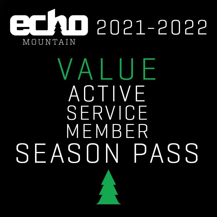 Value Active Service Member Season Pass